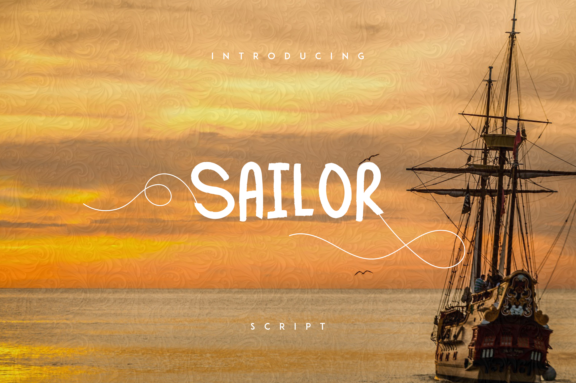 Sailor font example image 1