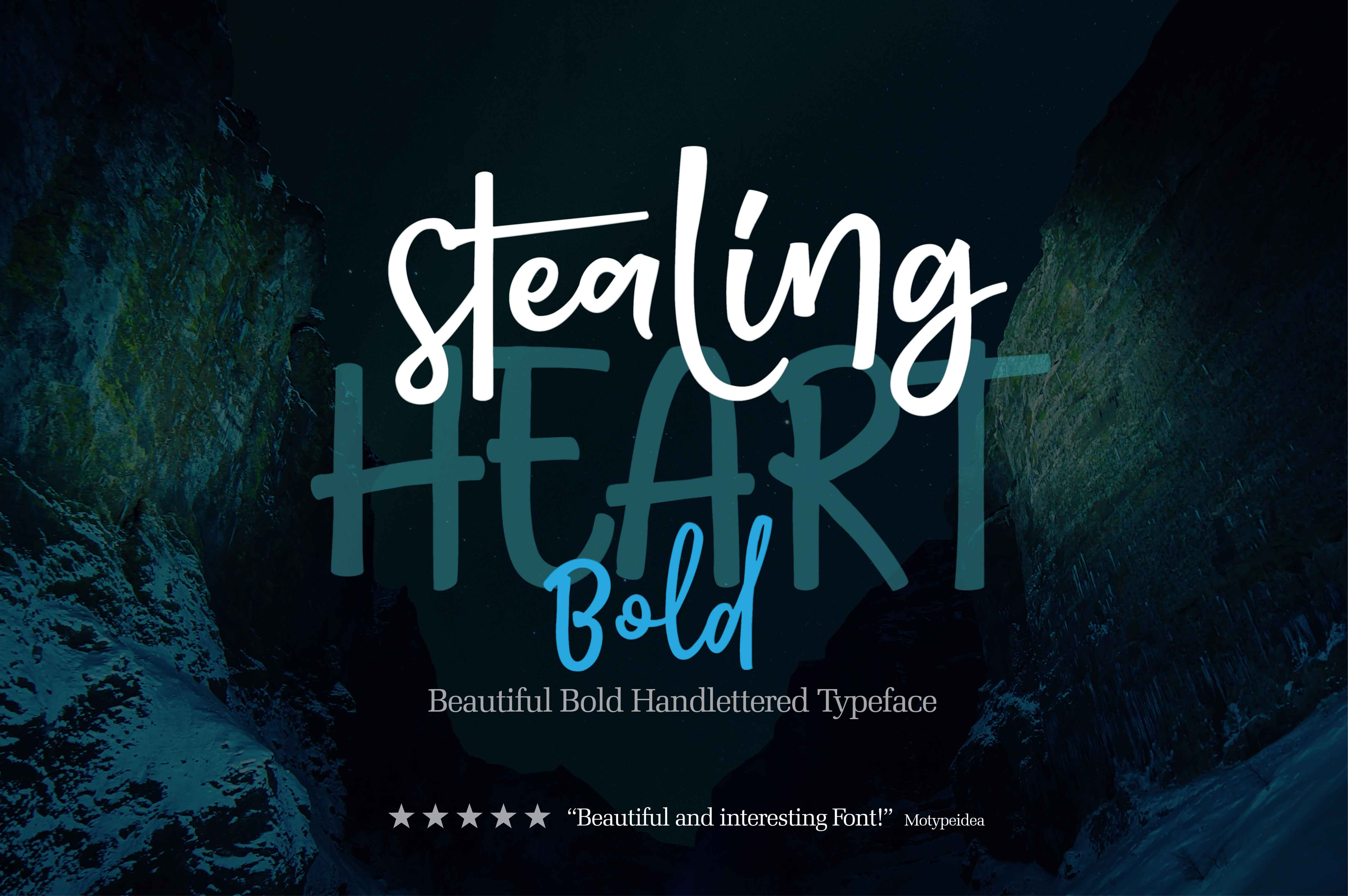 STEALING HEART BOLD example image 1