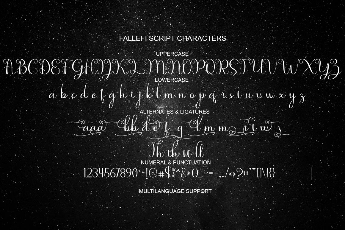 fallefi - Font Duo example image 5