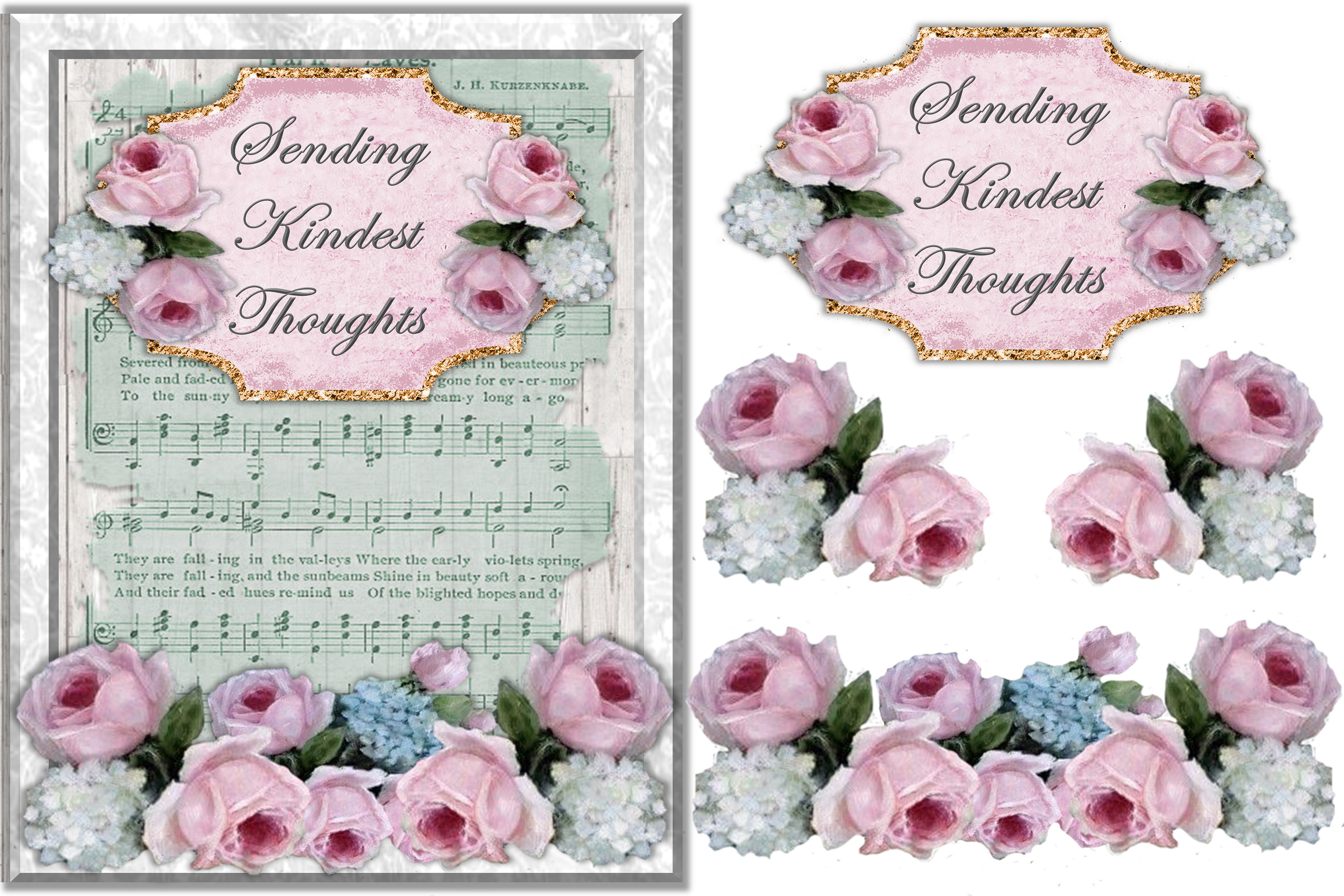 Mega Scrapbooking Kit with free backgrounds example image 6