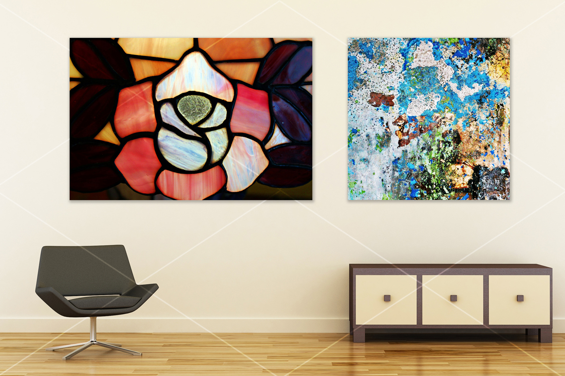Wall art mockup V4 example image 3