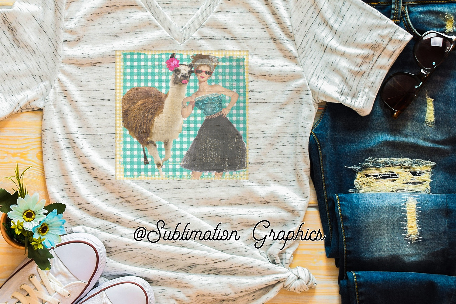 Lady Sublimation Digital Download example image 1