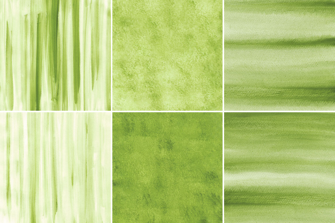 Green Watercolor Texture Backgrounds example image 2