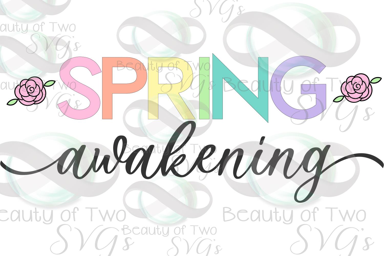 Spring Awakening svg, Spring Flowers svg, Spring svg example image 2