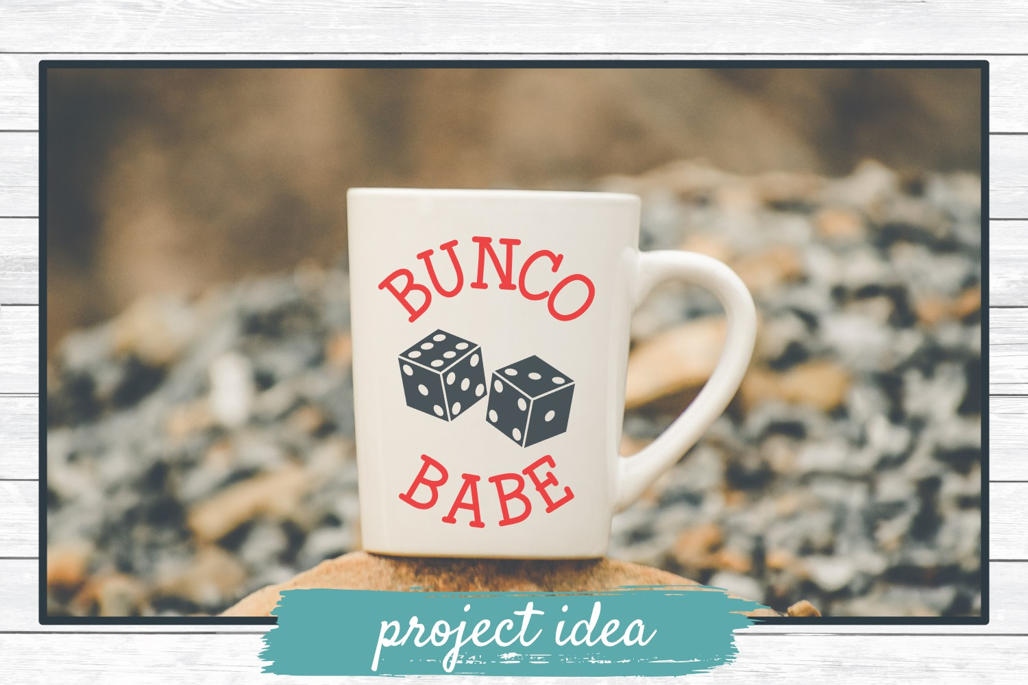 Bunco Babe, SVG Cut File for Crafters example image 2