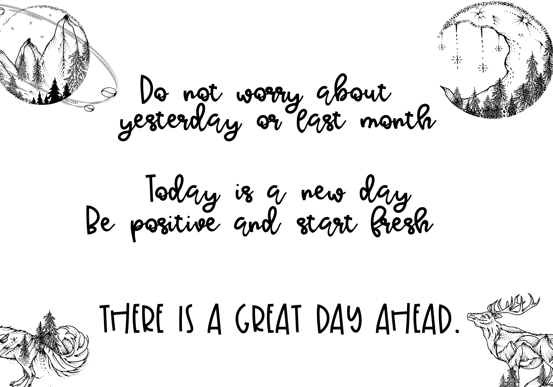 Sunday Morning - Script Font example image 5