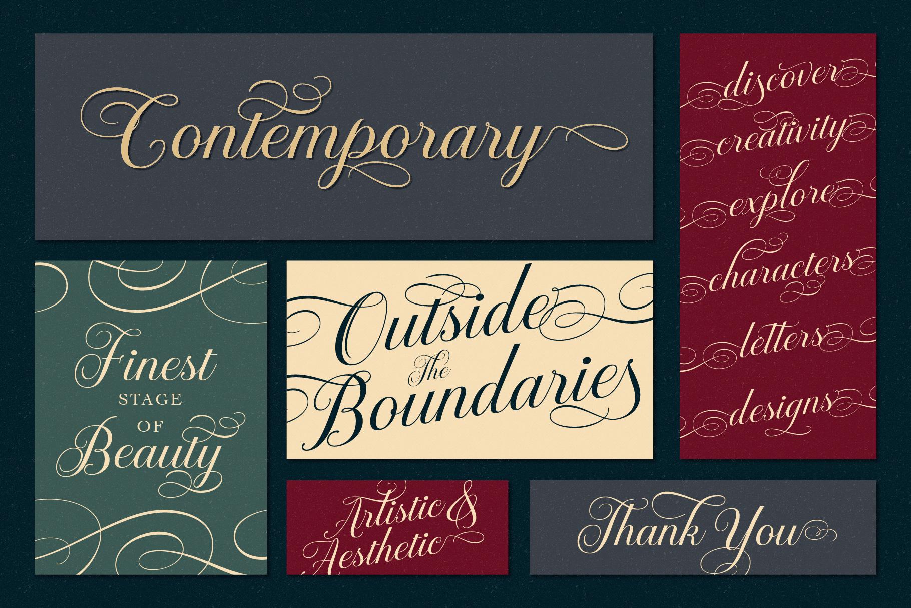 Brignola Elegant Calligraphy example image 11