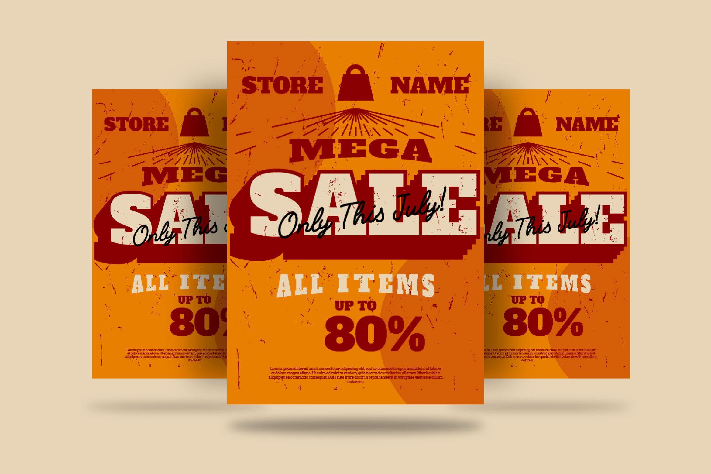 MEGA SALE Flyer example image 1