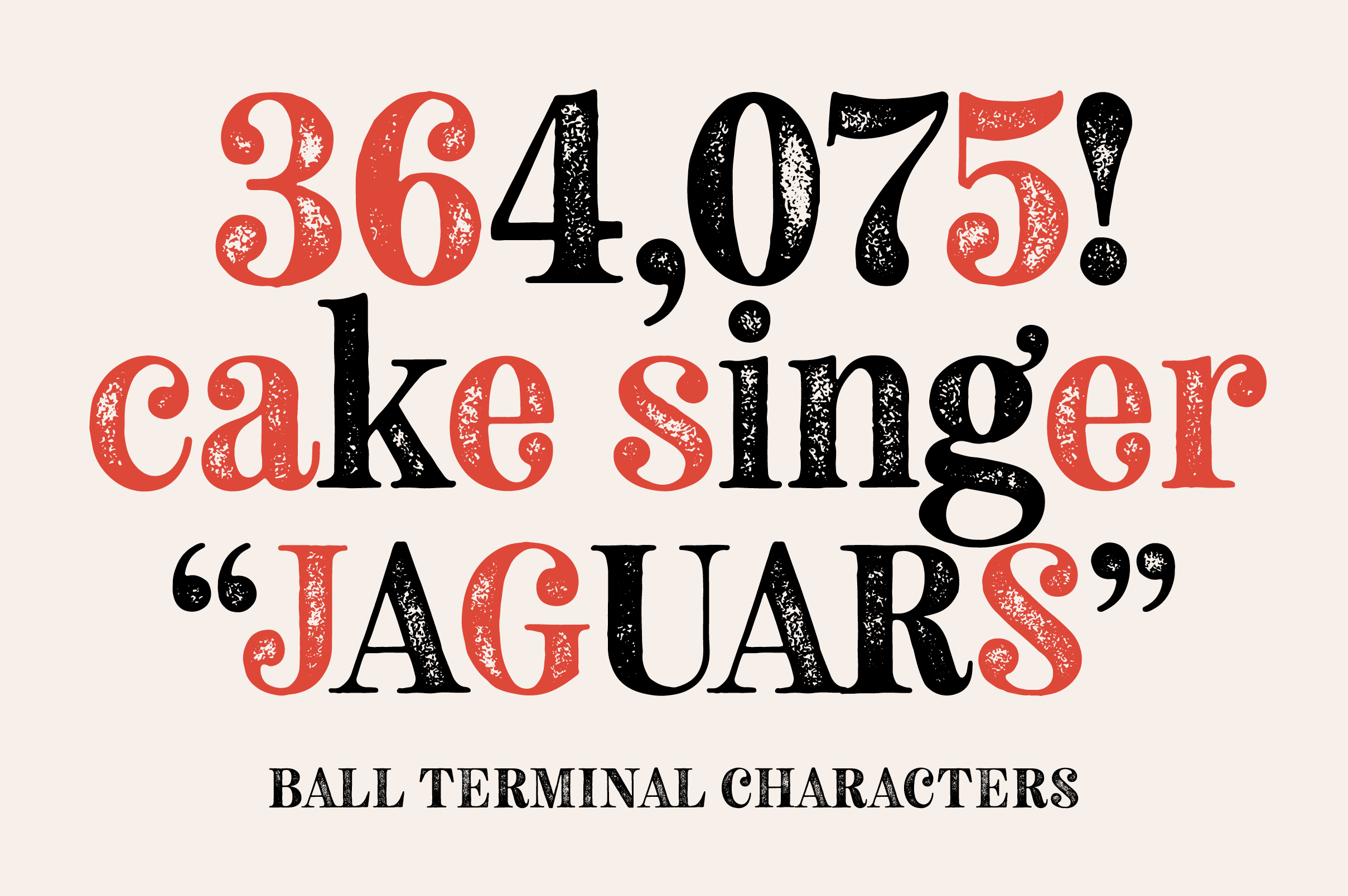 Neato Serif Rough Font Family example image 12