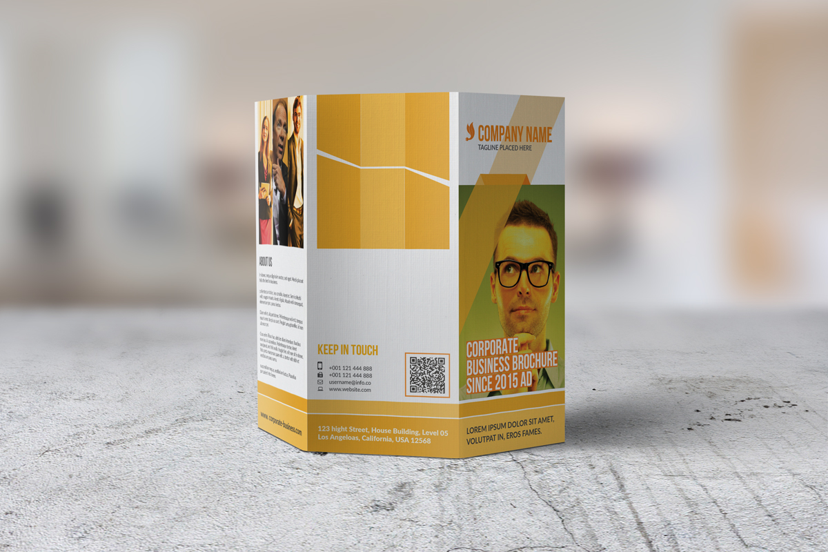 Trifold Corporate Brochure example image 4