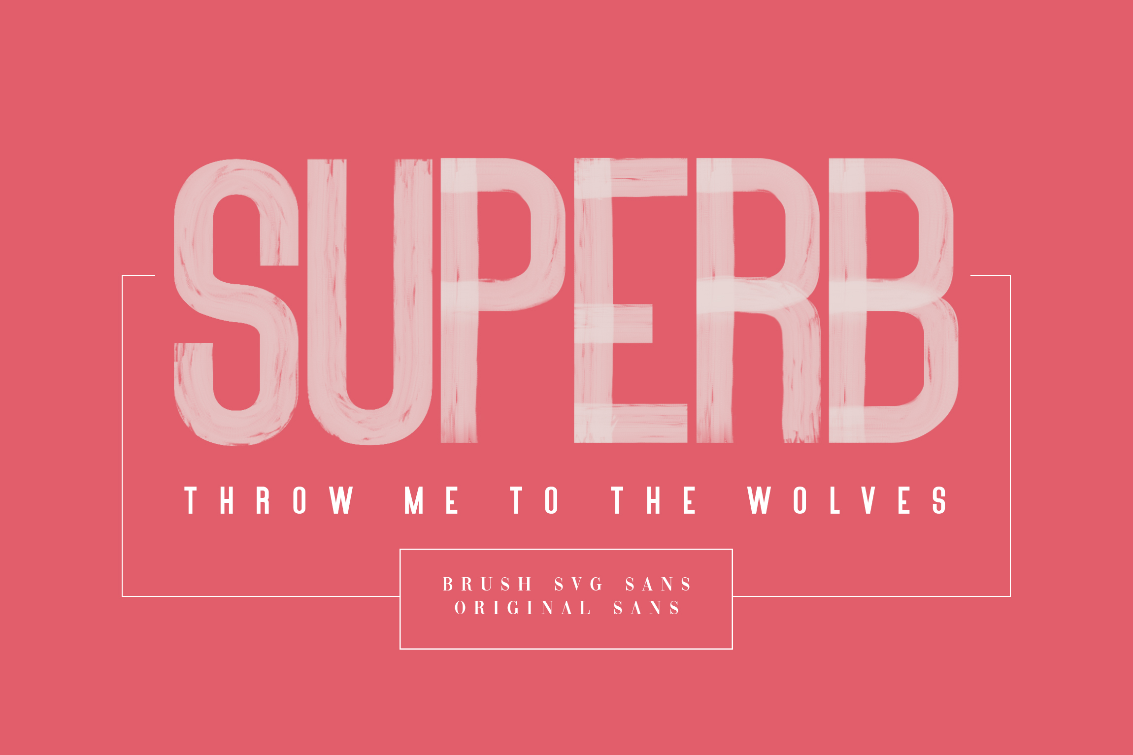 Brushelly SVG Brush Font example image 2