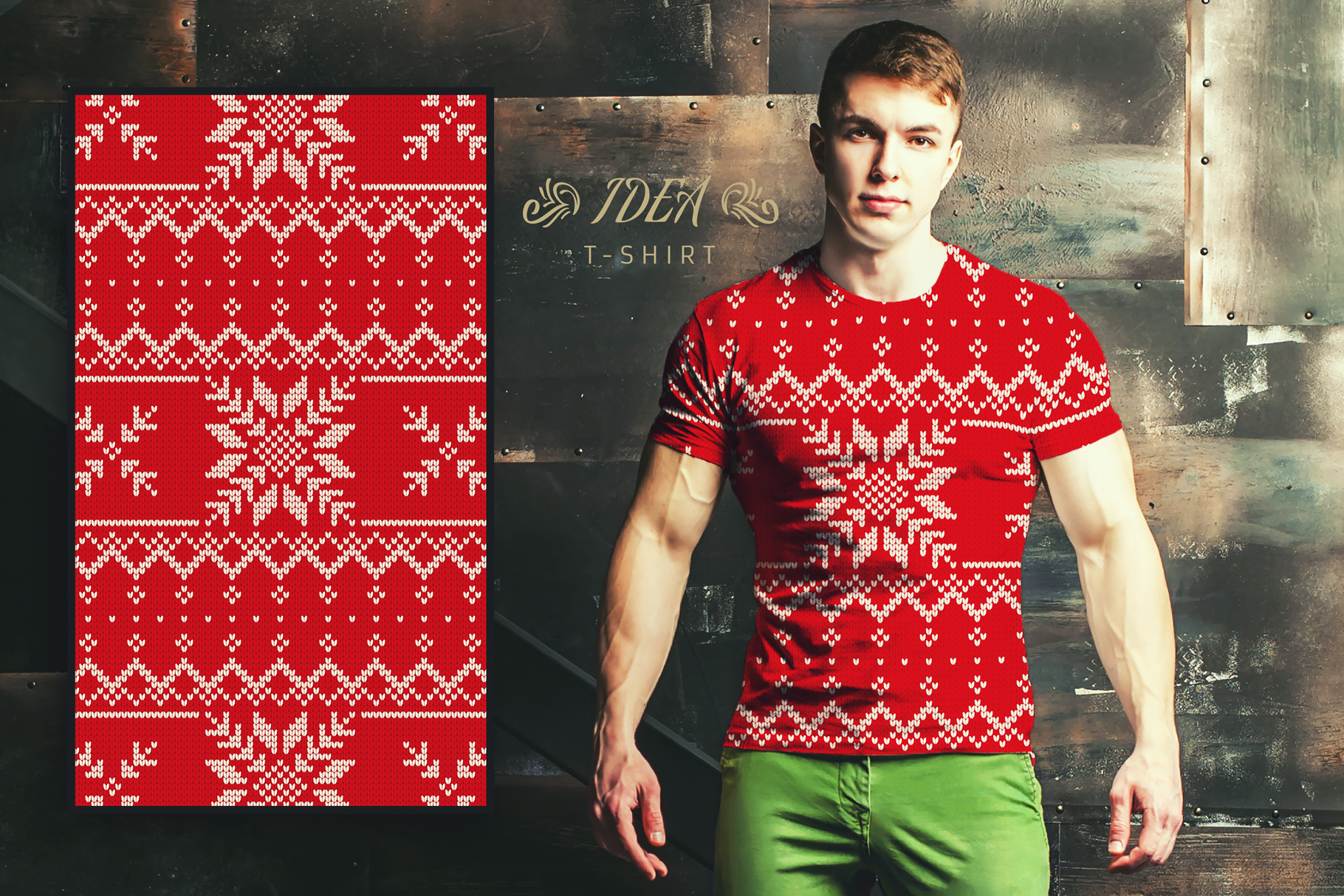 100 Seamless Patterns Vol.4 Christmas example image 25