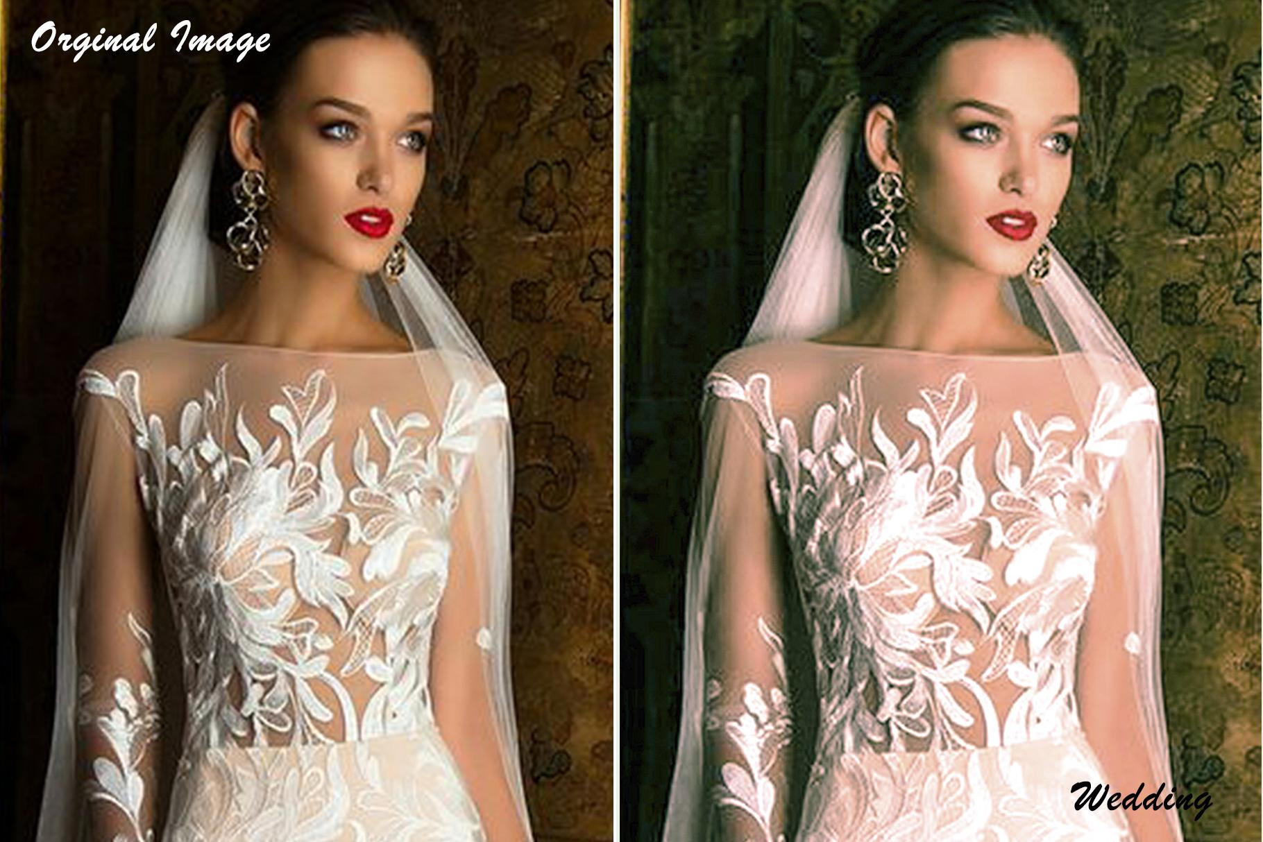 Wedding Lightroom Presets v1 example image 6