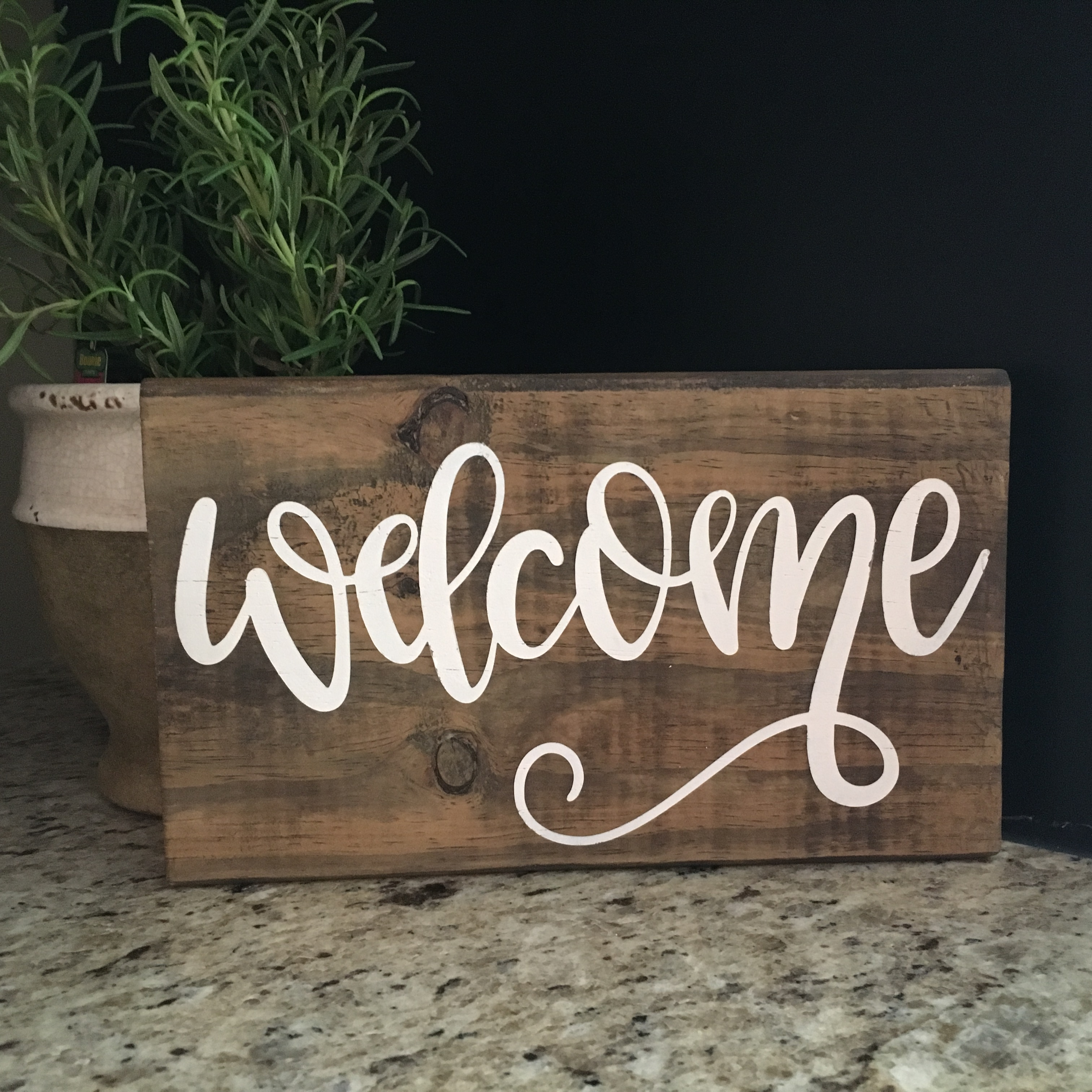 Welcome - Hand lettered SVG example image 2