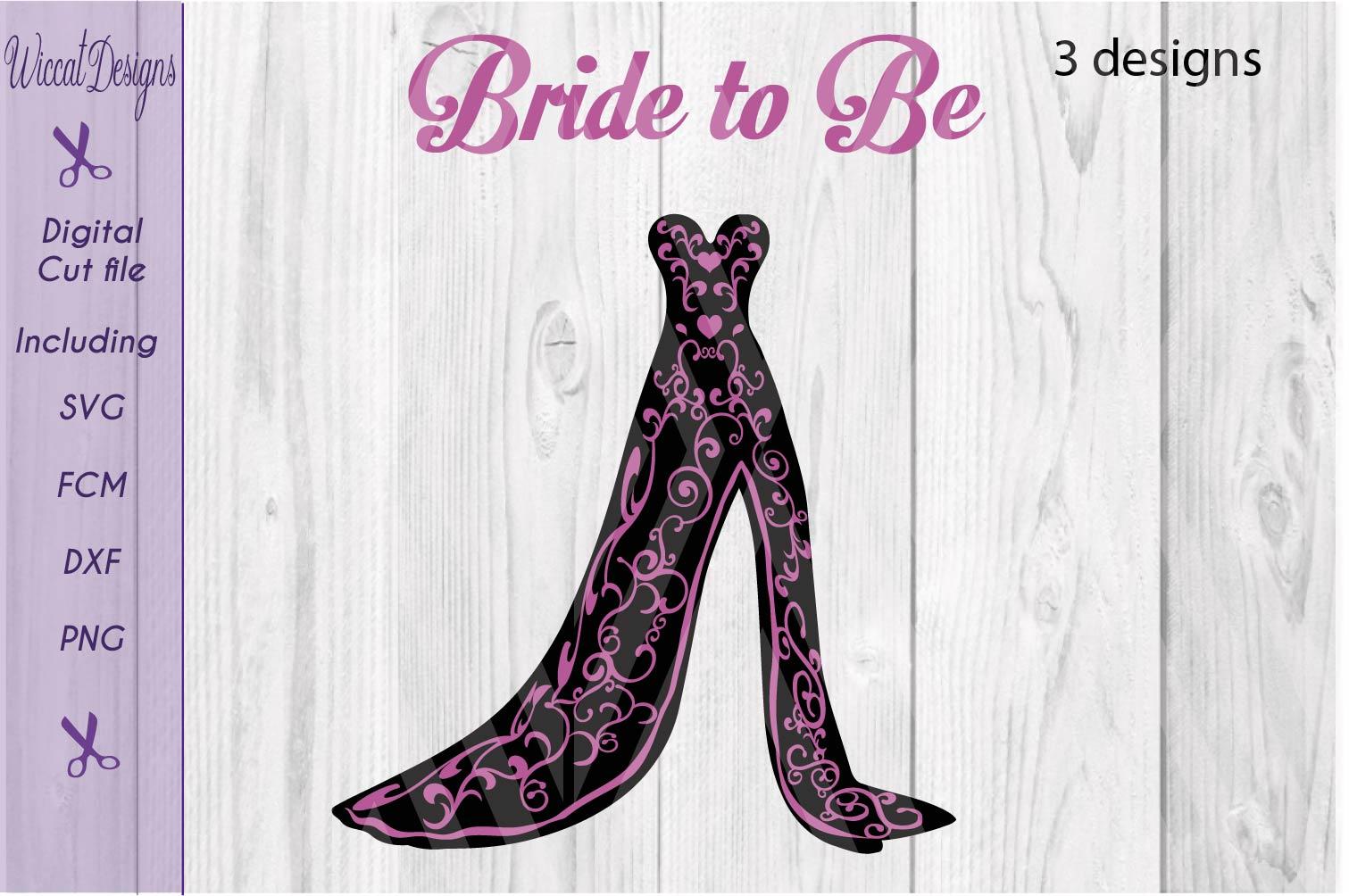 Dress svg, bundle svg, Prom svg, Bridal Gown svg,  example image 3