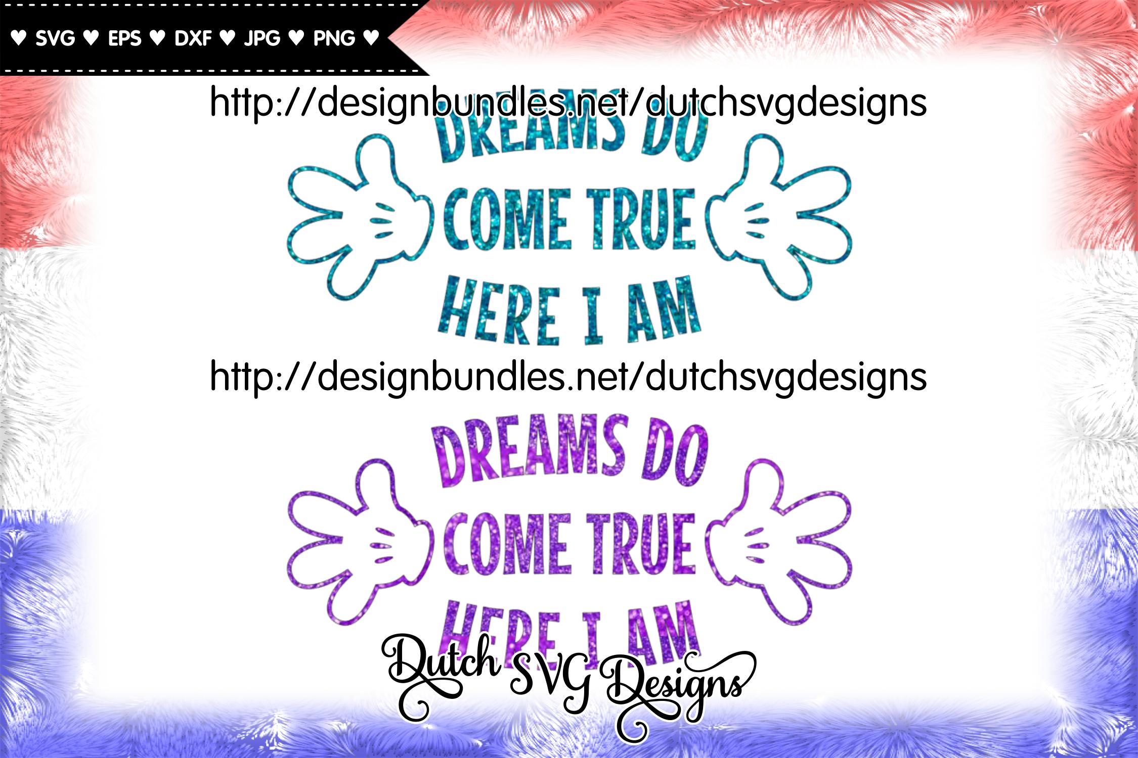 Cutting file Dreams, dreams svg, wish svg, baby svg example image 4