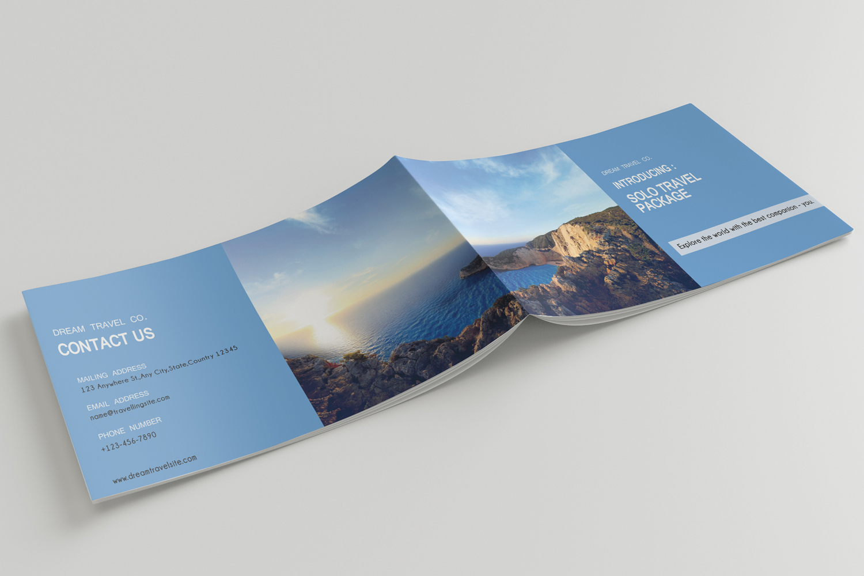 Travel Agency Printable Catalogue - A5-26 PSD Templates example image 15