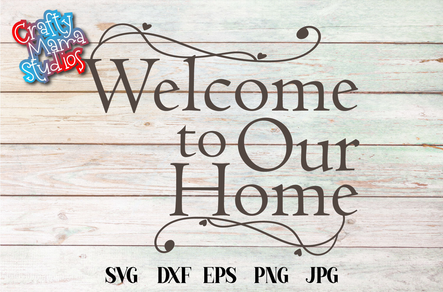 Welcome To Our Home SVG Sublimation, Welcome Home example image 2