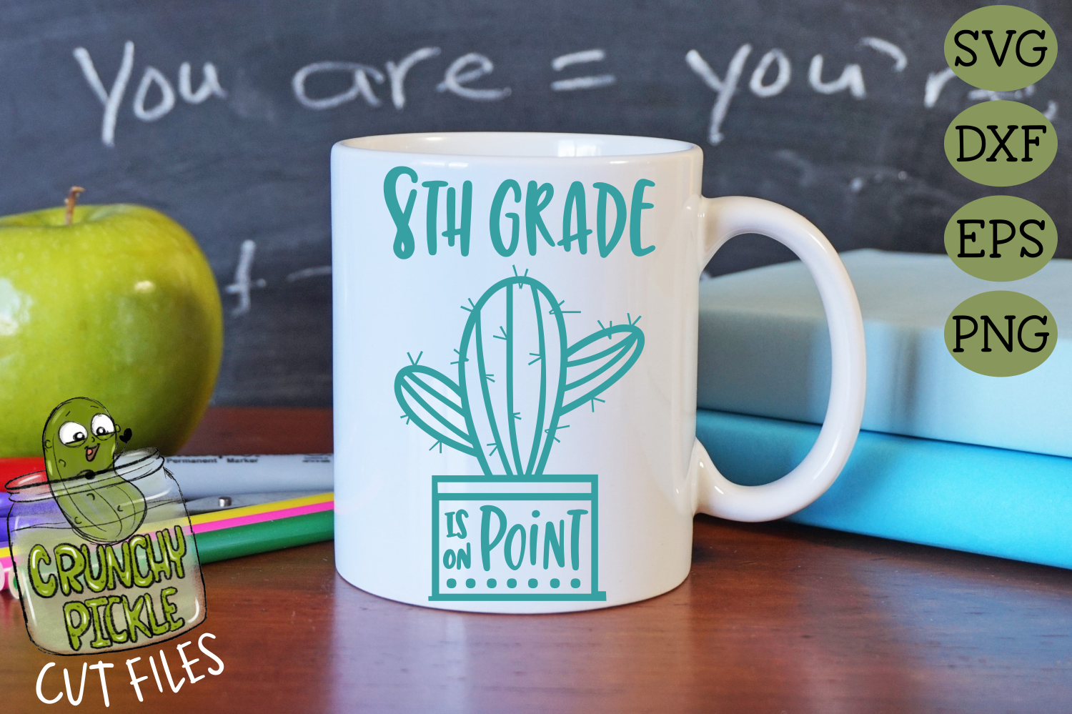 Cactus Middle School Grades on Point SVG example image 3