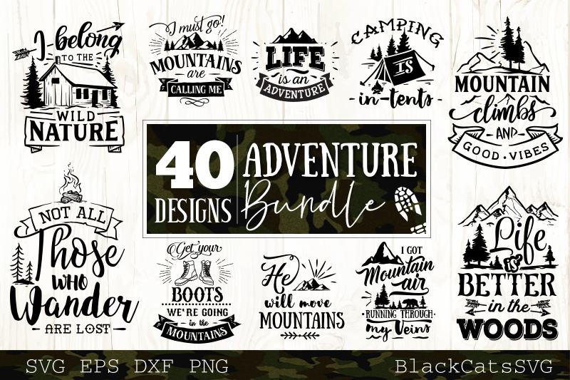 Mega Bundle 400 SVG designs vol 1 example image 5