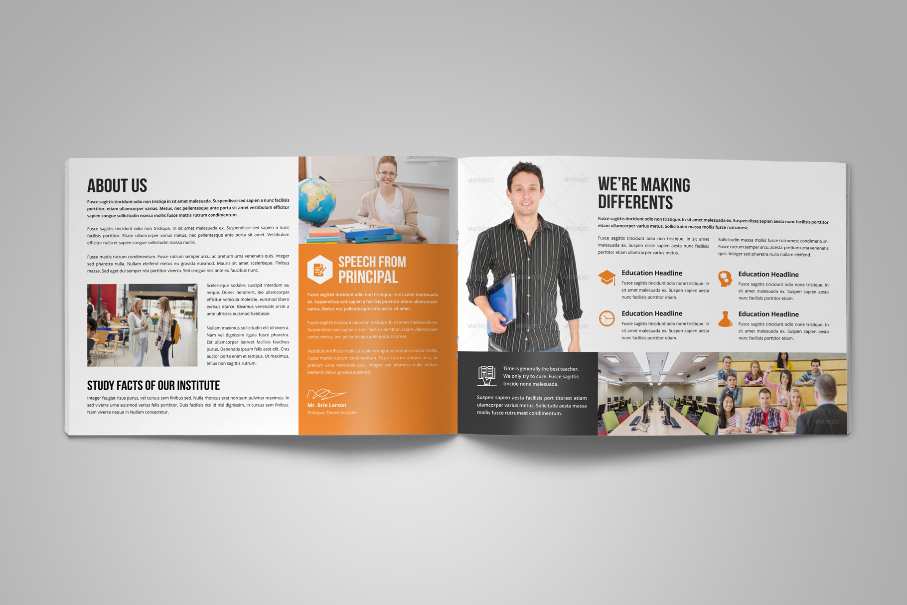 Education Prospectus Brochure v8 example image 3