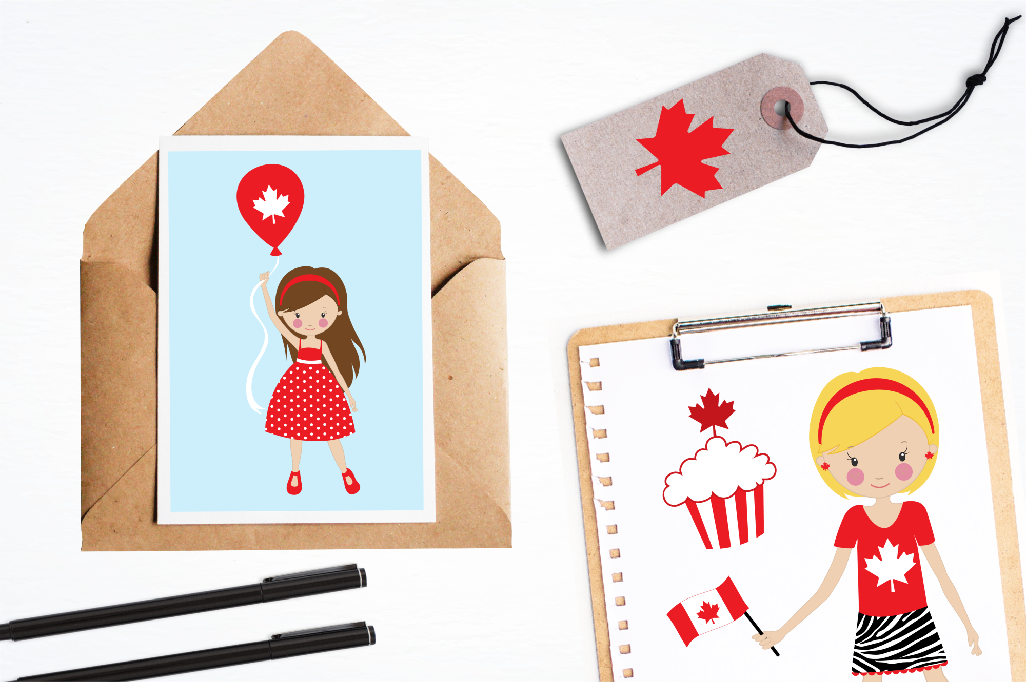 Canada Day graphics and illustrations example image 4