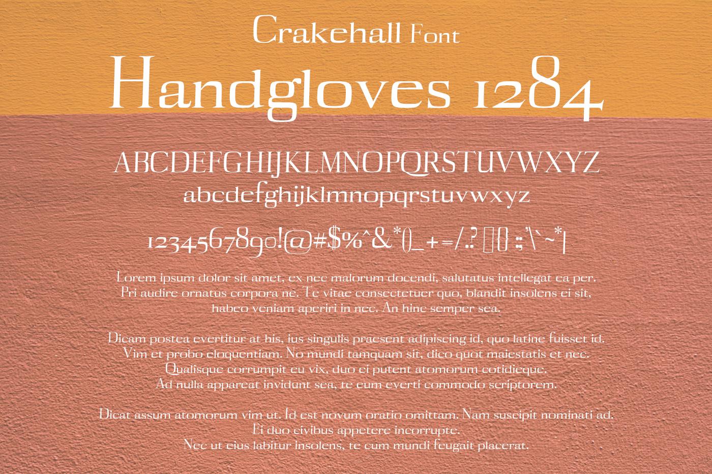 Crakehall Font example image 2