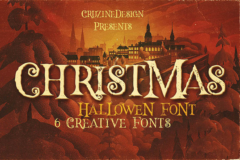 Hallowen Typeface example image 2