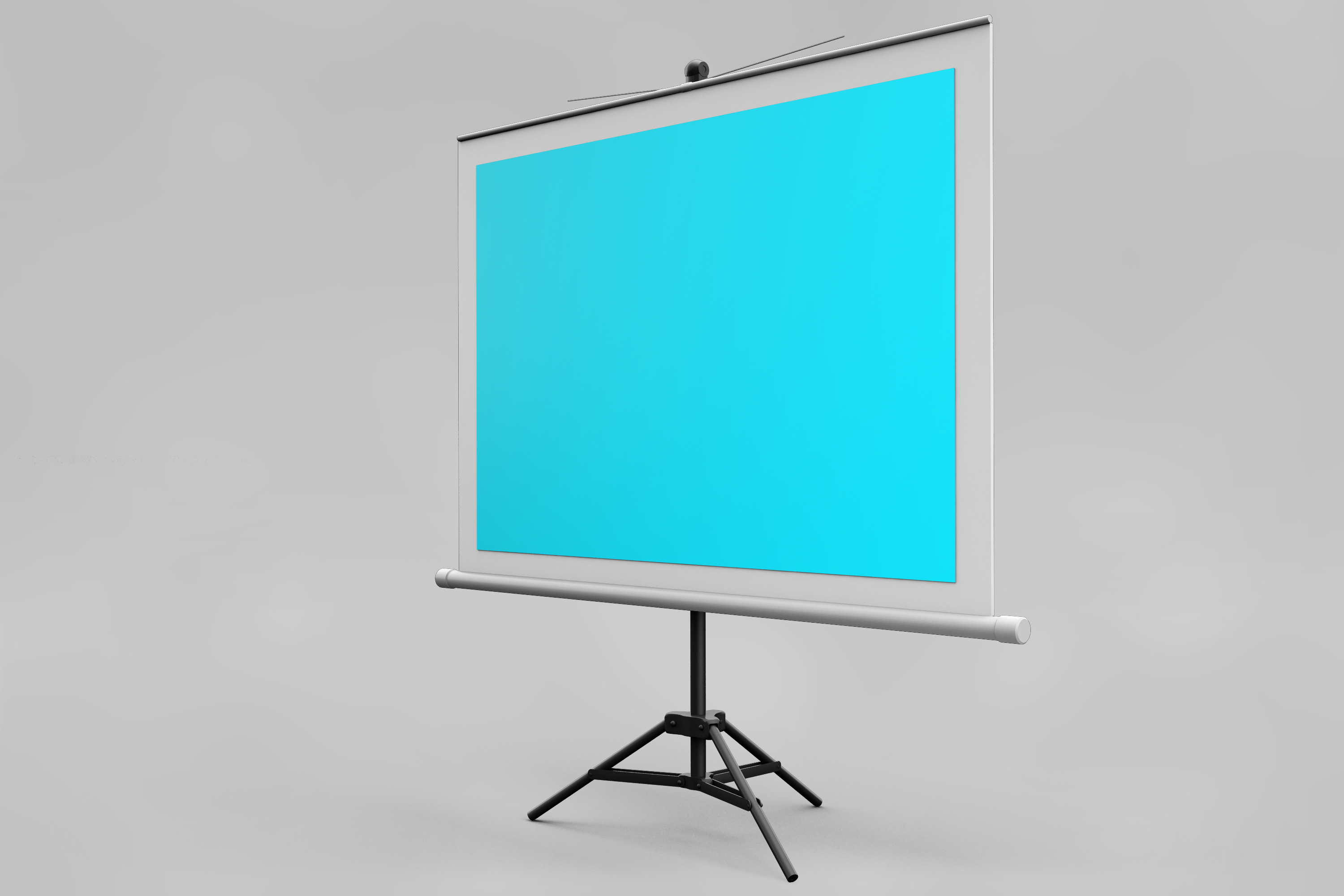 Projector Screen MockUp example image 8