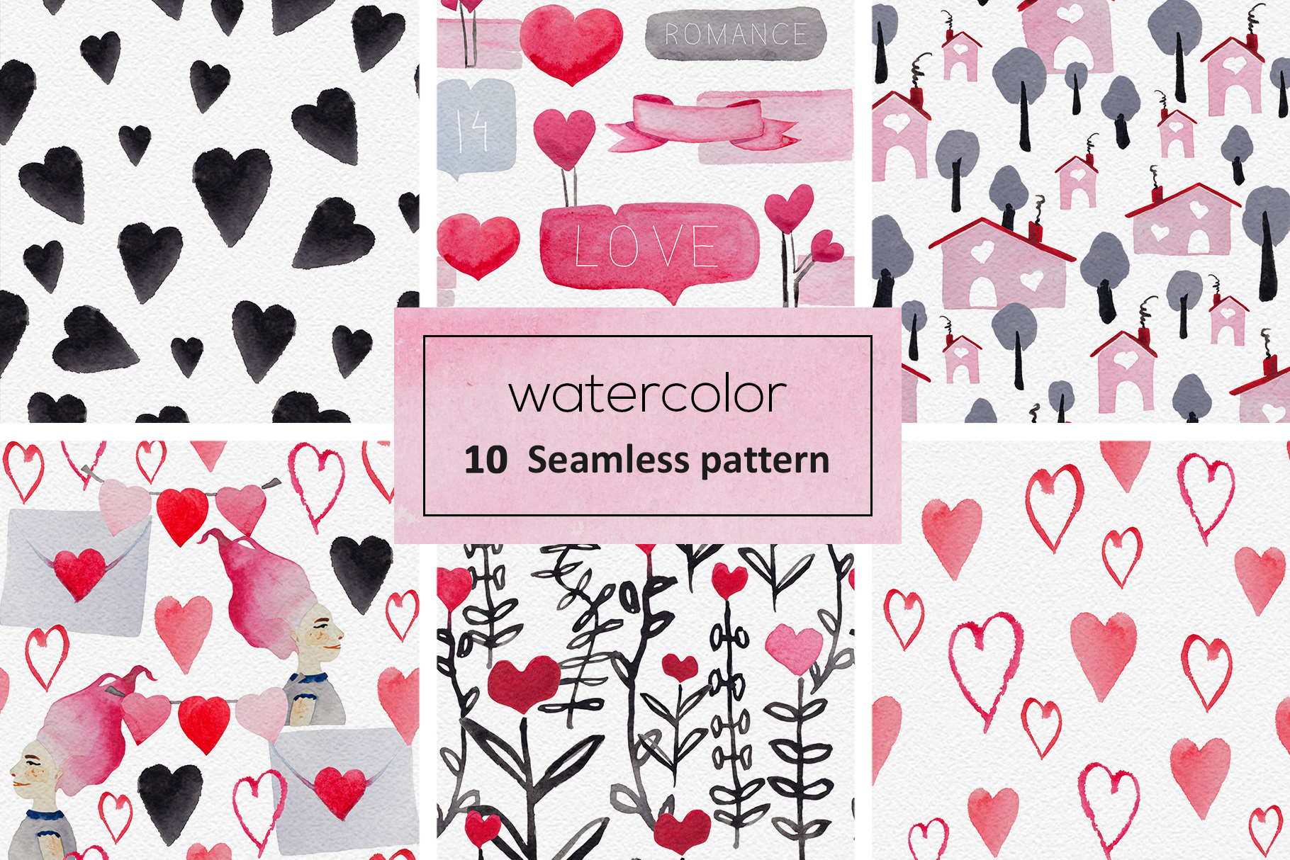 Romantic patterns example image 3