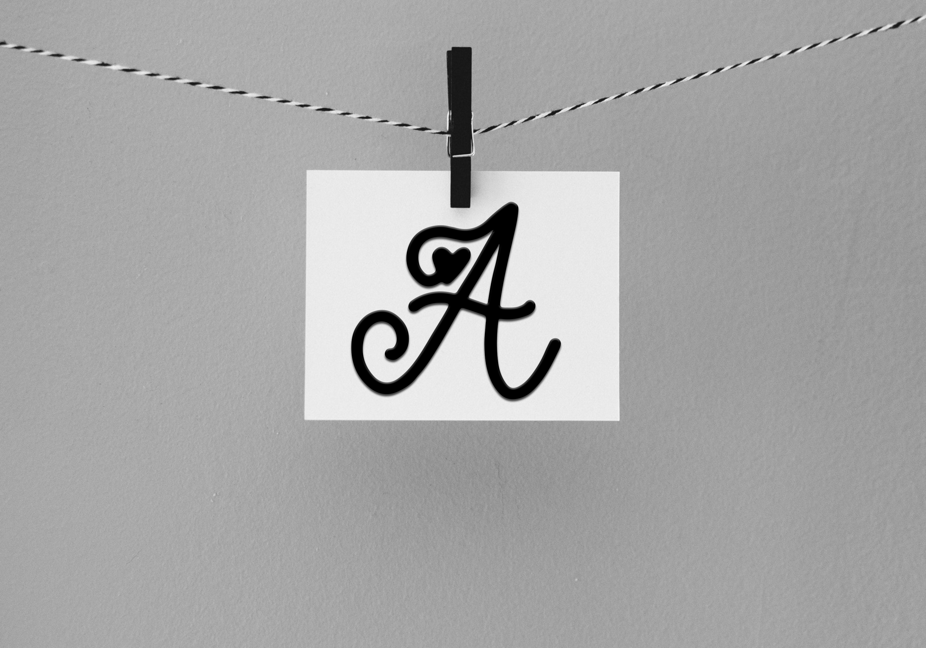 Handwritten Monogram Font - Four Styles example image 8