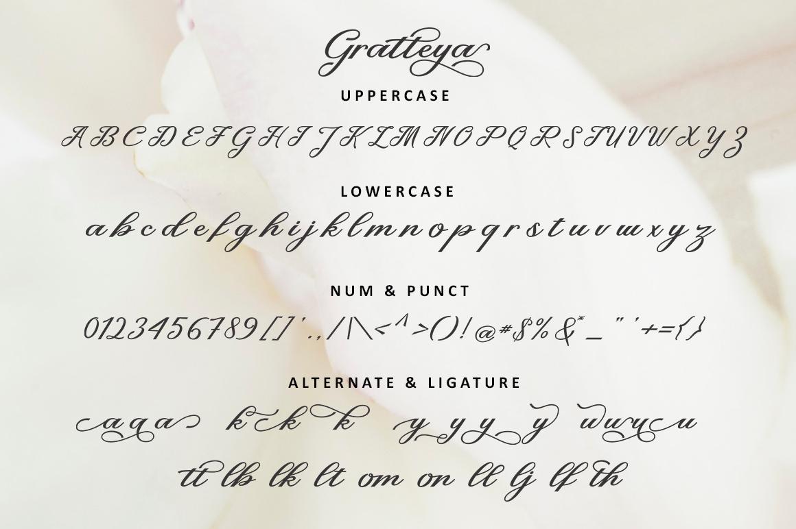 Gratteya Script example image 7