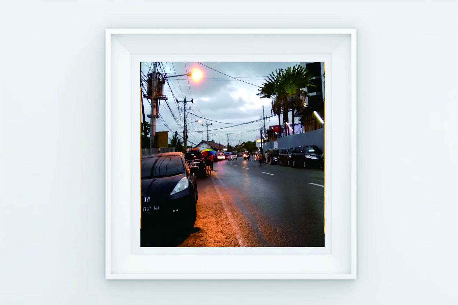 FRAME POSTER SIDE ROAD example image 1
