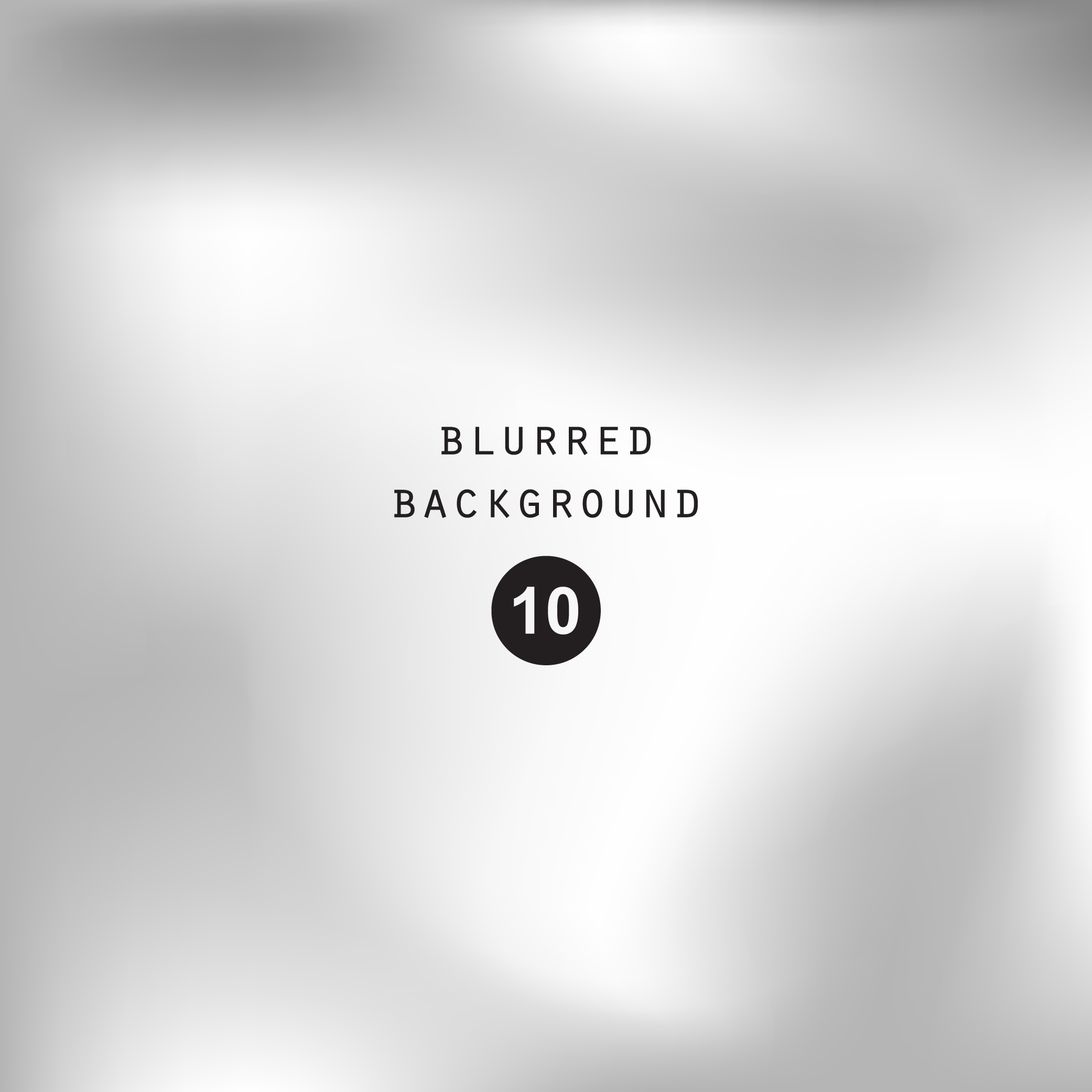 Blurred silver abstract gradient background example image 2
