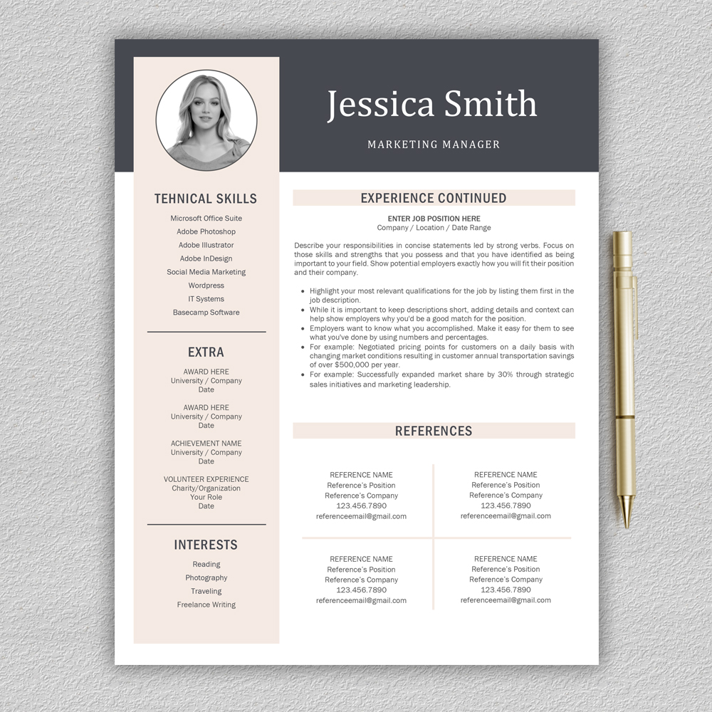 resume templates    cv templates