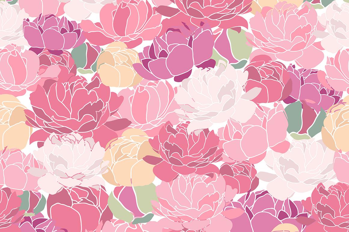 Flower Peonies example image 7