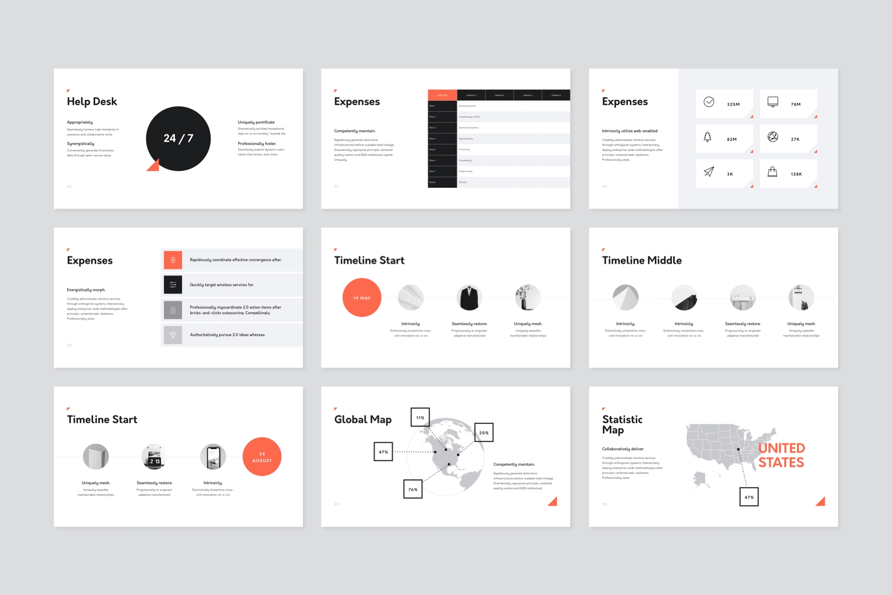 Corp Keynote Presentation Template example image 10