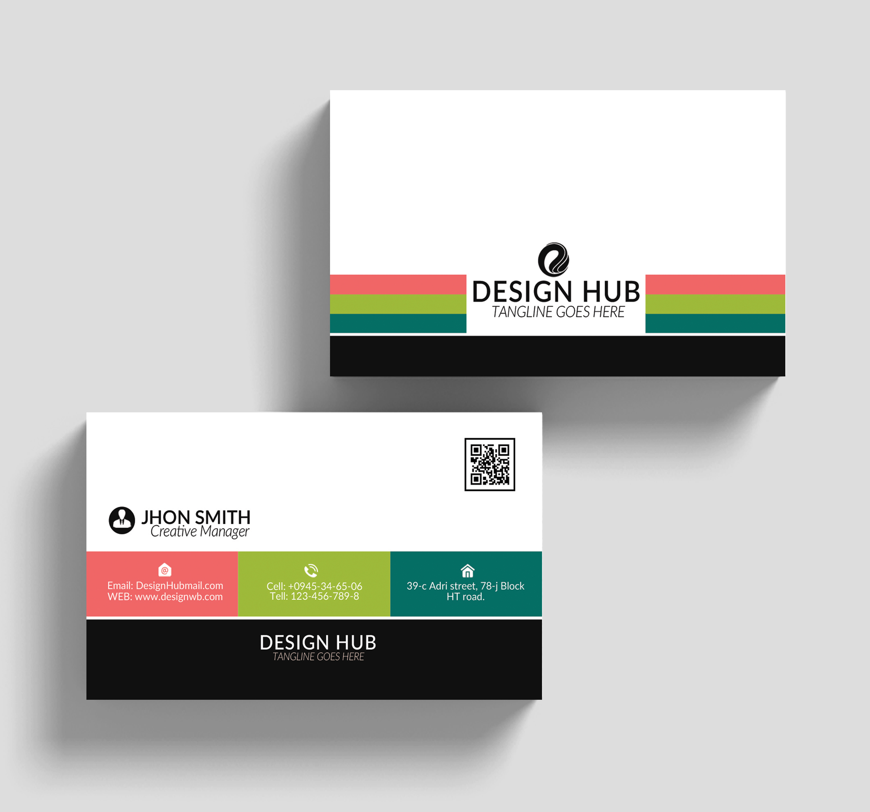 Colorfull Business Cards example image 3