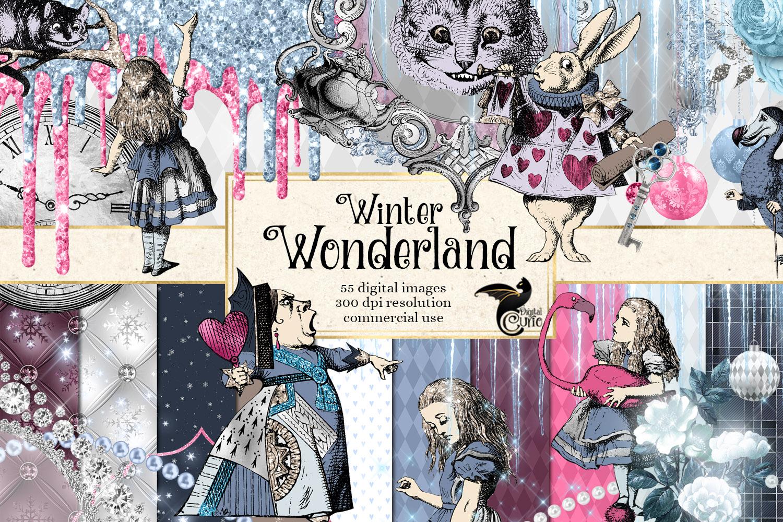 Winter Wonderland Clipart example image 1