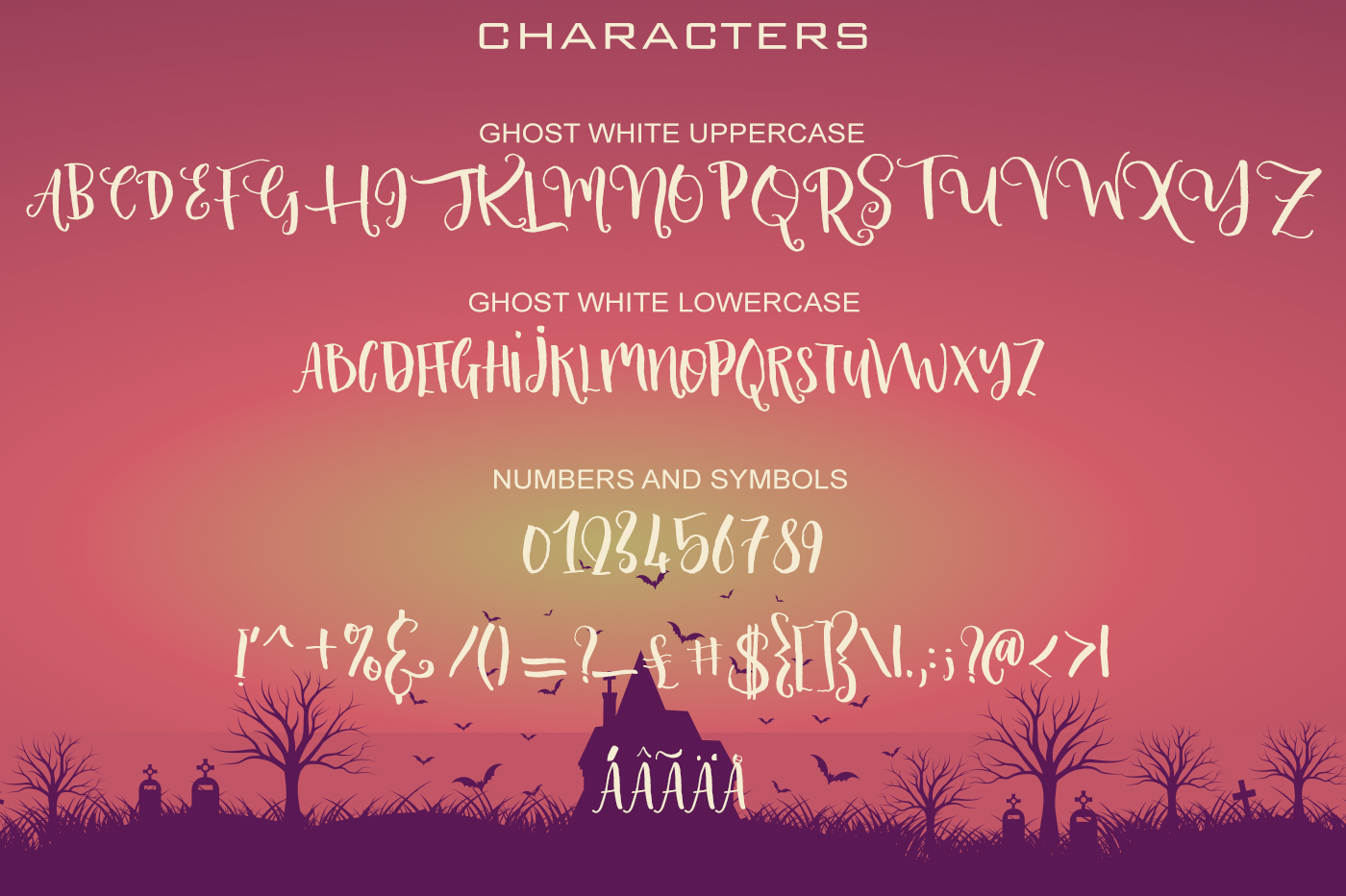 Ghost Fun Font Collection example image 9
