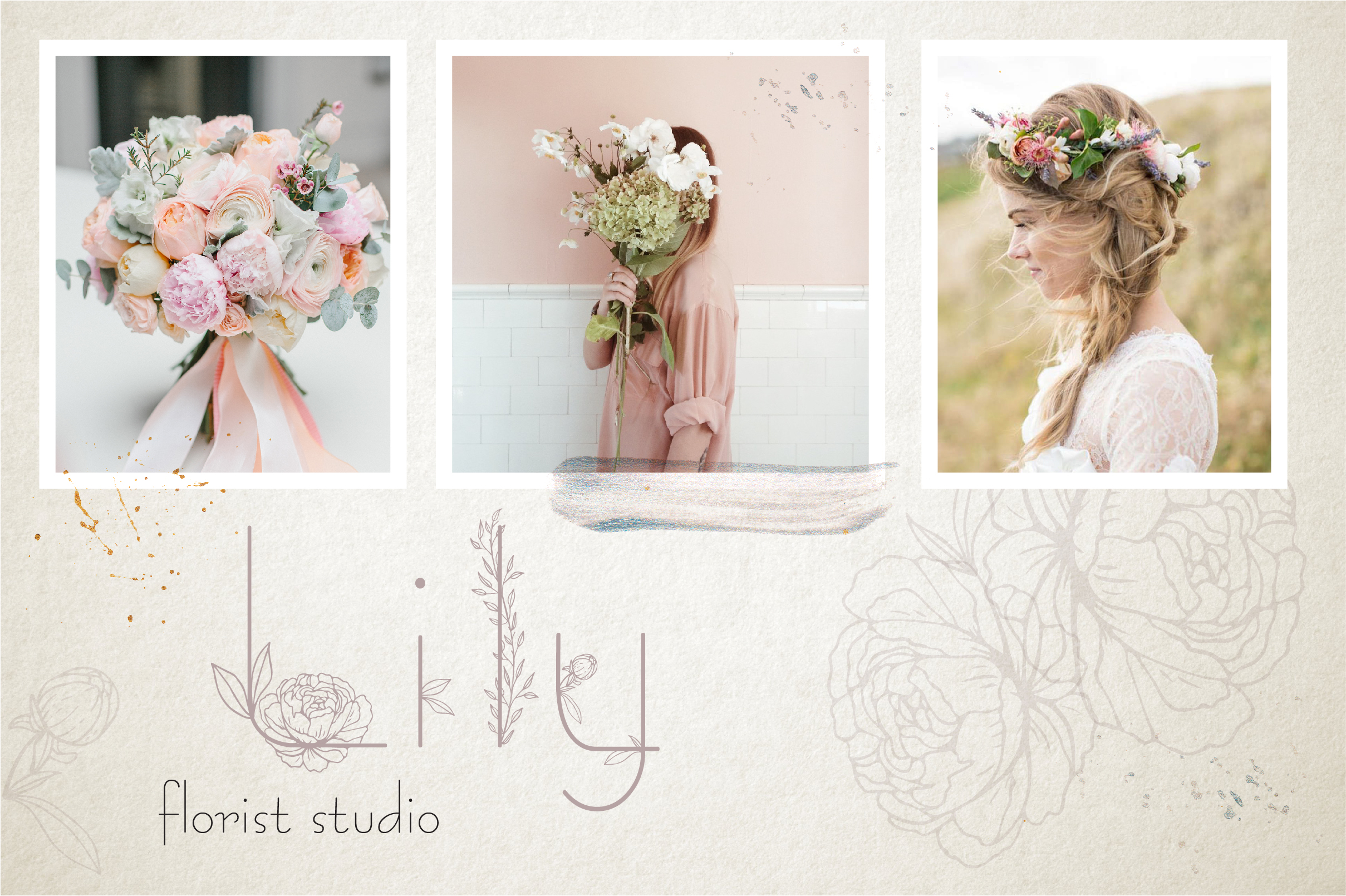 Amelie Floral Display Font example image 6