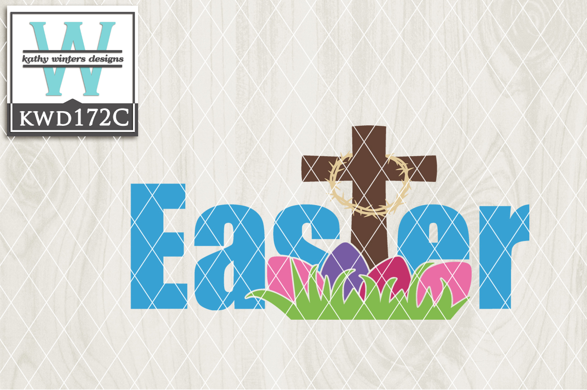Easter Cutting File KWD172C example image 1