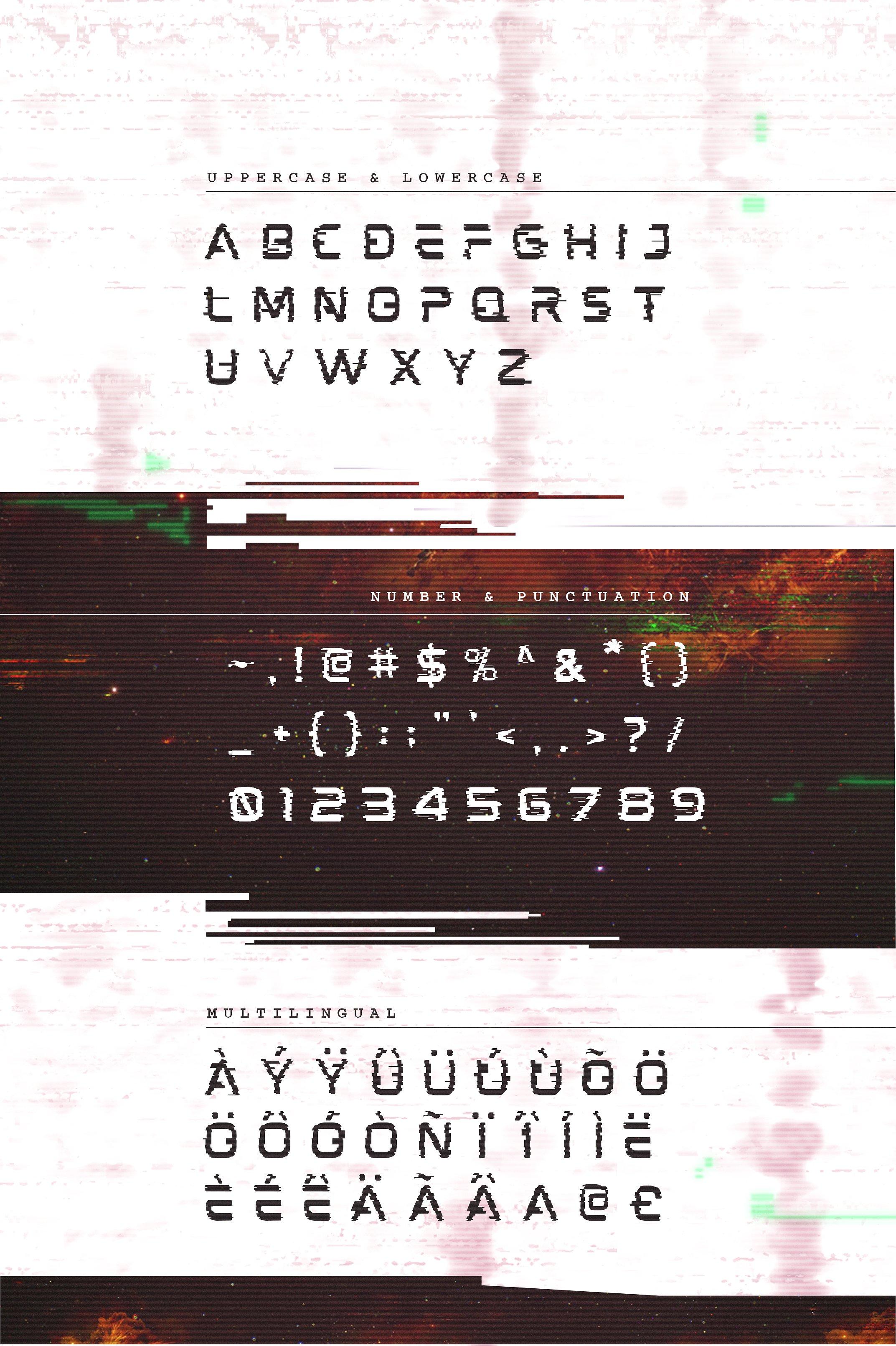 Mokoto Glitch Typeface example image 9