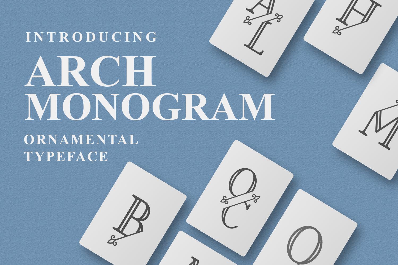 Arch Monogram example image 1