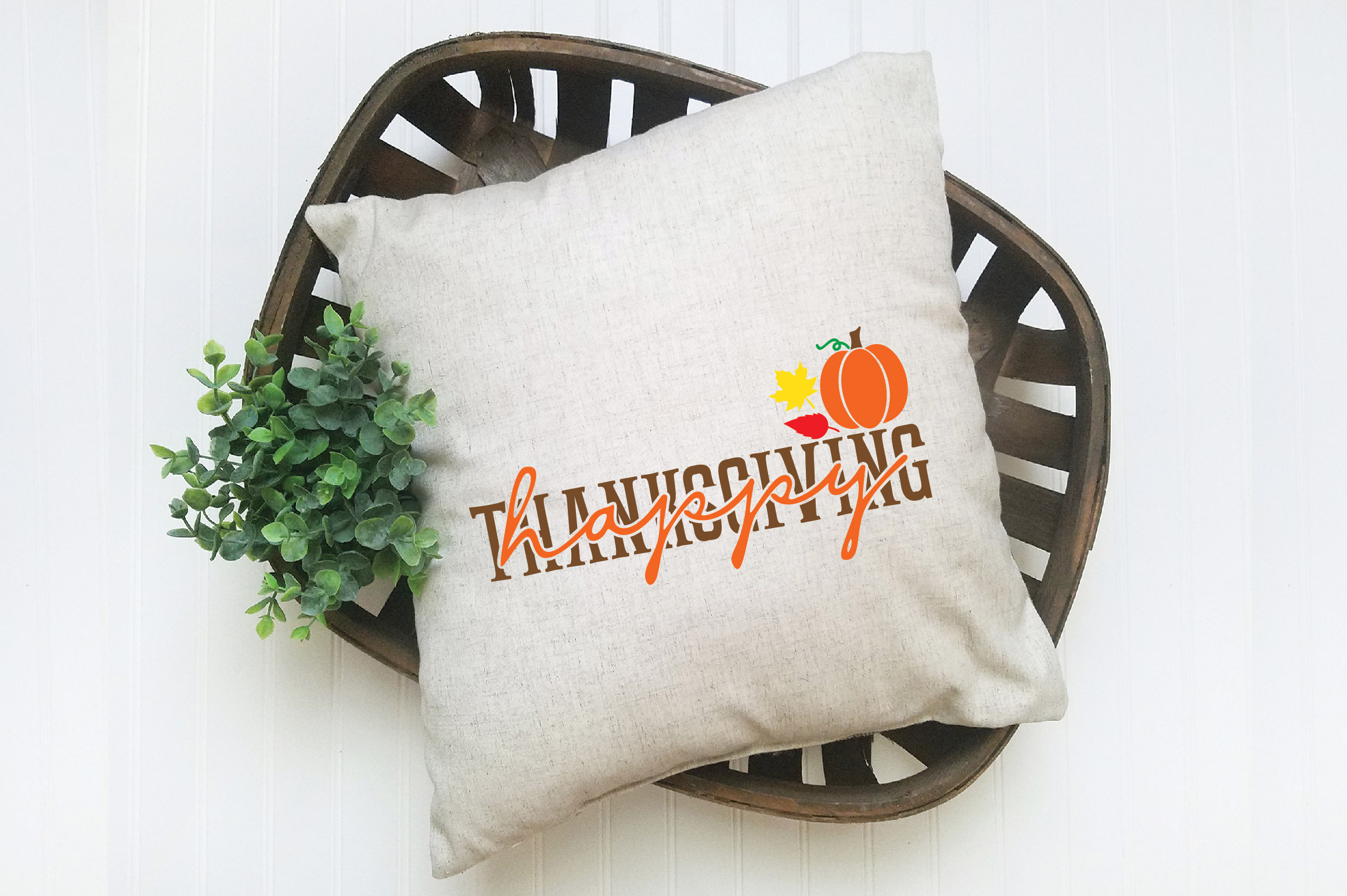Happy Thanksgiving SVG Cut File example image 4