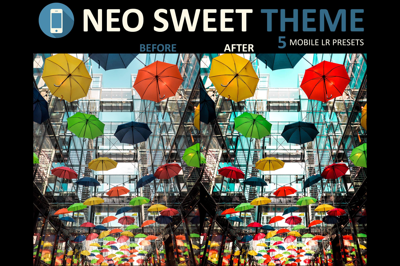 Neo Sweet Theme mobile lightroom presets example image 3