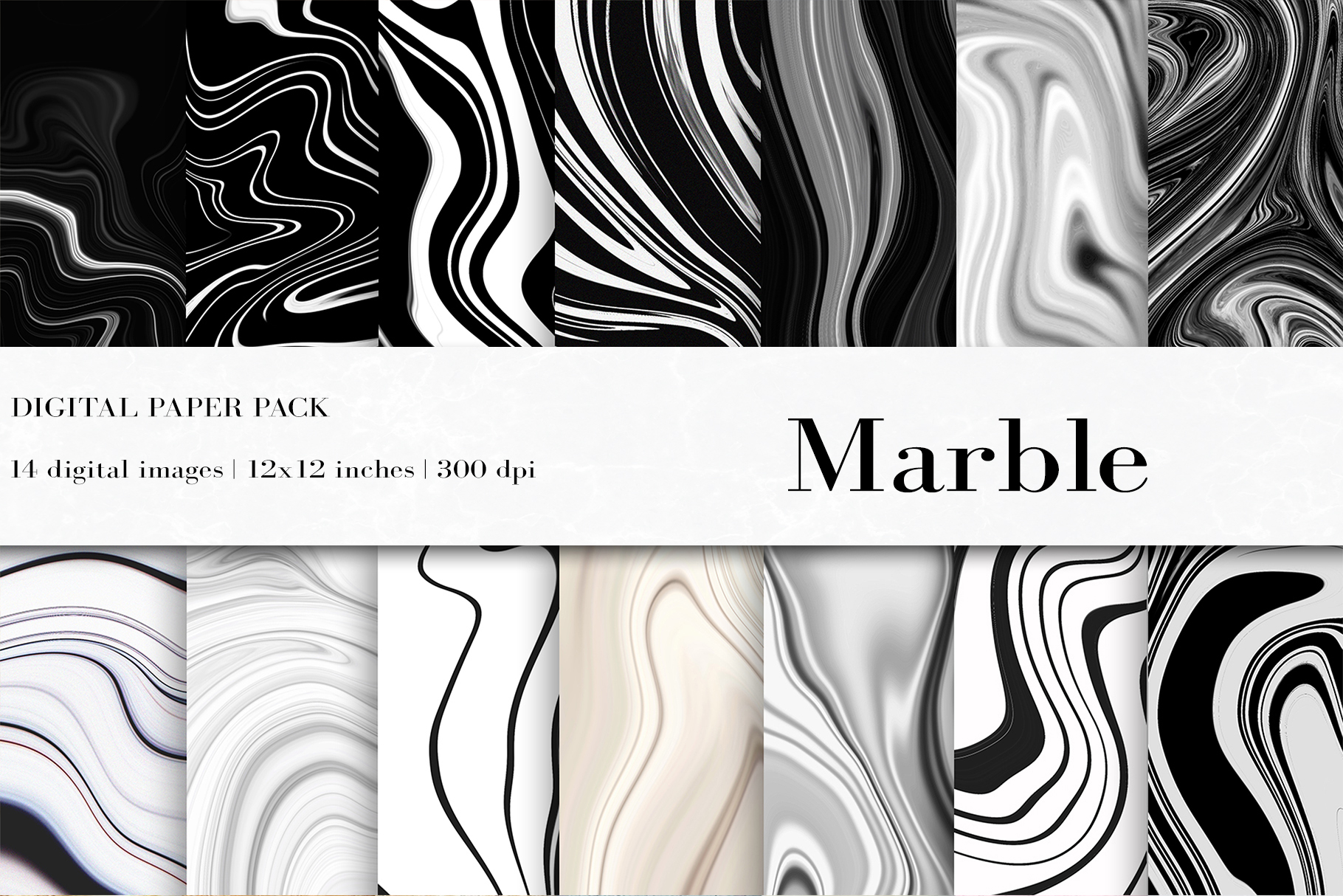 Marble Digital Papers Marble Background