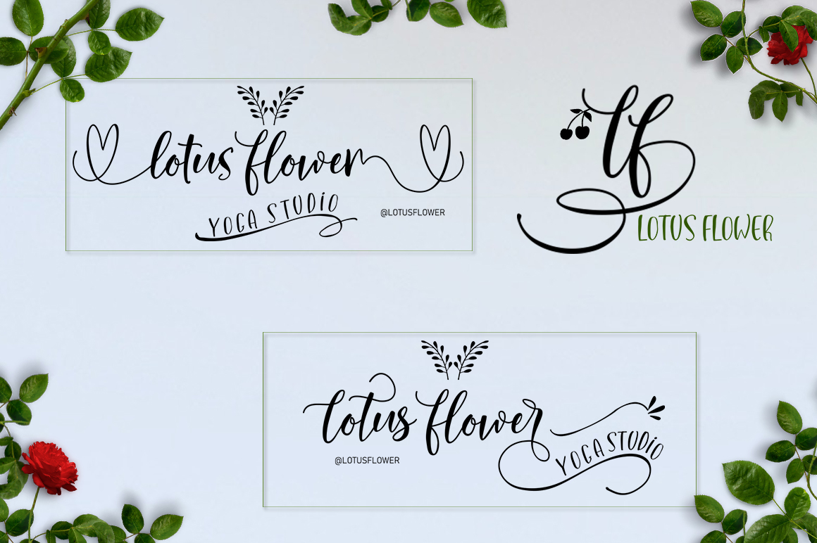 Lovely Buttering Font Duo & Extras example image 4