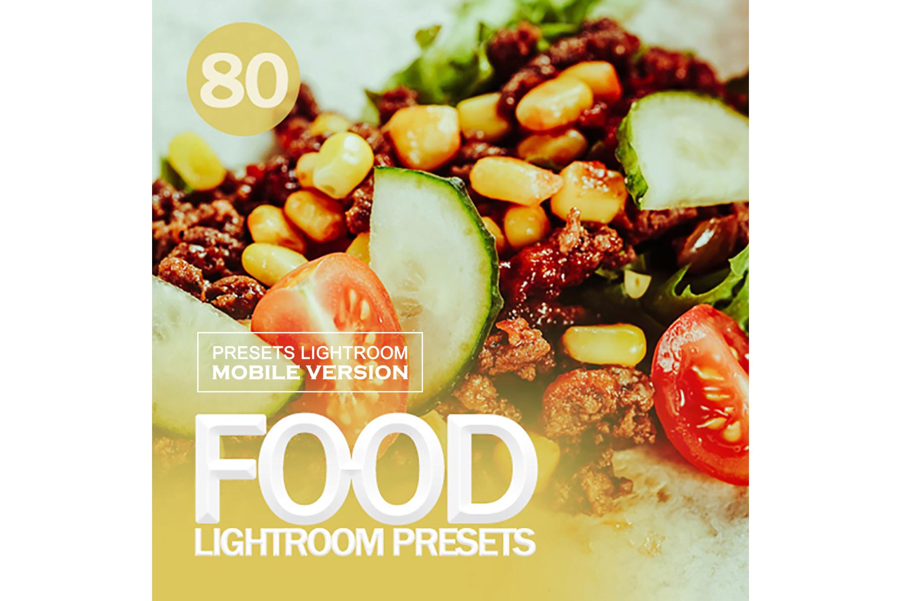Food Lightroom Mobile Presets example image 1