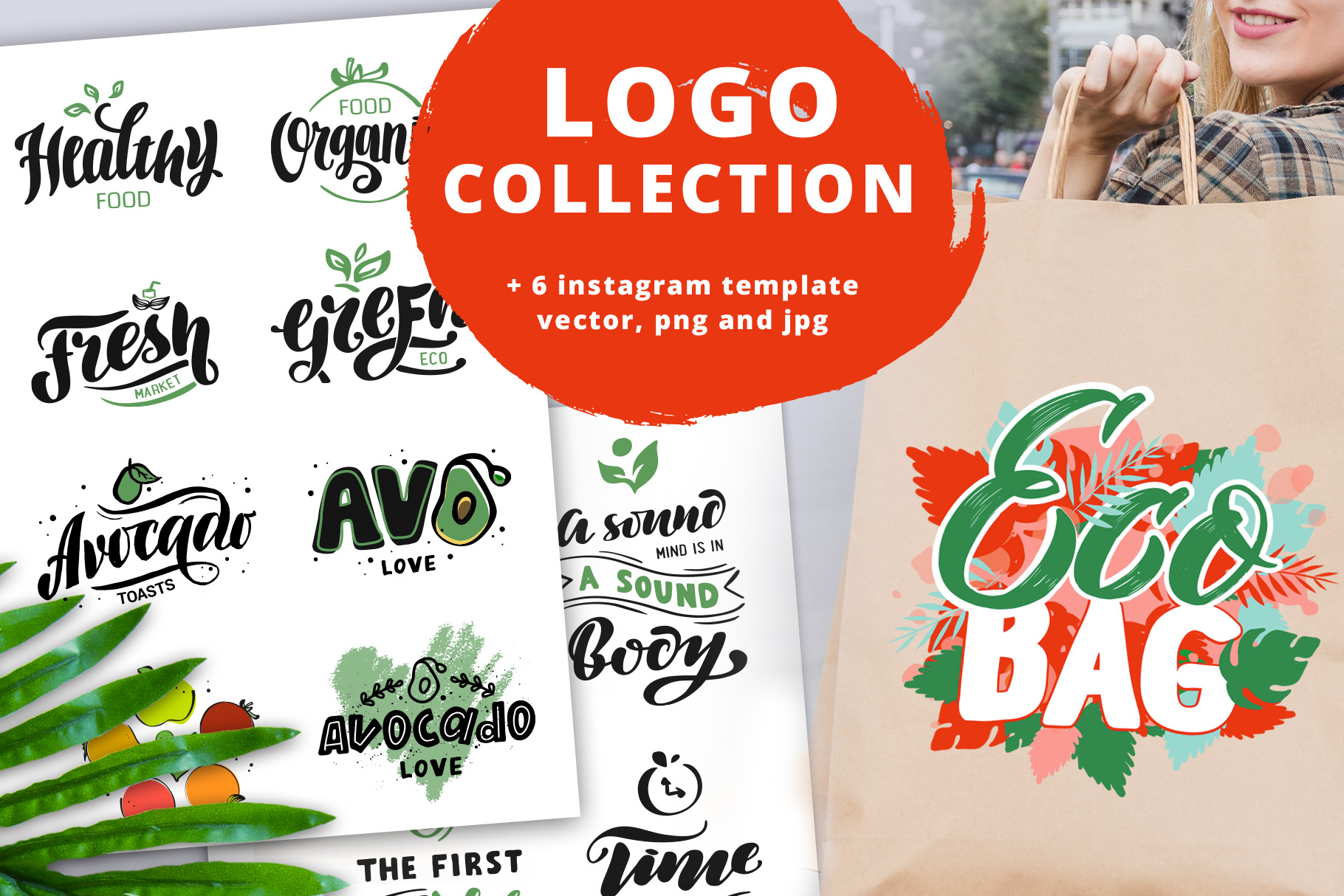 Logo & Lettering Eco collection example image 1